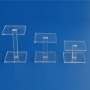 Safe Acryl Vierkant-Säulen Höhe 70mm per 2 Stück Nr. 5152