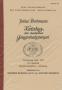 Baumann/Depiereux Bochmann, Julius Katalog der deutschen Gelegen