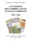 Frick, Michel/Sturm, Alain/Dameraux, Alain Catalogue des timbres