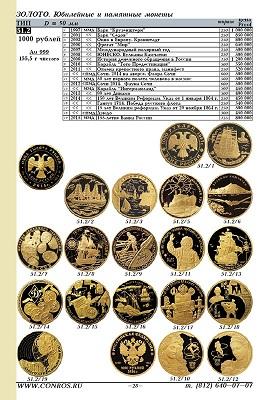 Conros Münzen der RSFSR, der UdSSR und Russlands 1921–2021  49.