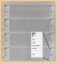 Kobra Telefonkarten-Einsteckblatt G14E
