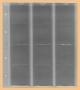 Kobra Ersatzblatt F12 für 12 Münzen bis 44 mm Ø. Mit stabilem we