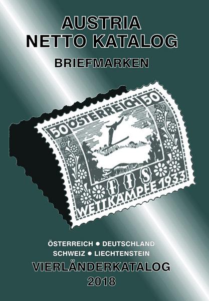 Austria Netto Katalog Briefmarken Vierländerkatalog 2018 Österre