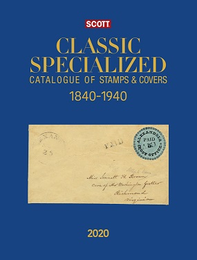 2020 Scott Classic Specialized Catalogue Of Stamps And Covers 18