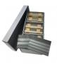 Archivbox PRESTO A6, bestückt mit je 300 Einsteckkarten im Forma