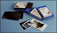Hawid-Zuschnitte 39x28mm glasklar Nr. 7035 blaue Verpackung per