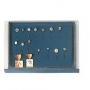Safe Münzen-Stapelelement Nr. 6460 ohne Unterteilungen für Anste