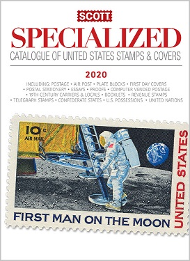 2020 Scott Specialized Catalogue of  United States Stamps & Cove