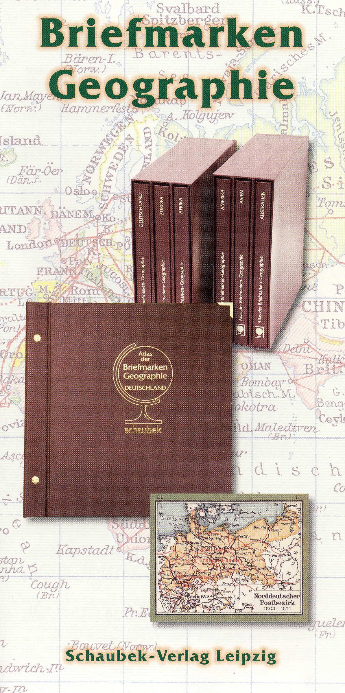 Schaubek Briefmarken-Geographie