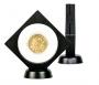 Objektrahmen NIMBUS NEMO schwarz mit rundem Ausschnitt Ø 75mm Nr