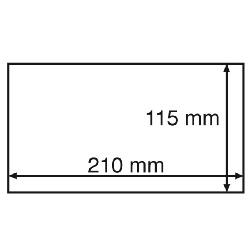 Leuchtturm Banknotenkapsel STABIL 190, Innenformat 190x91mm 3447