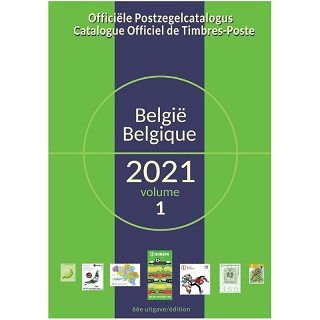 COB/OCB Catalogue Officiel de Timbres-Poste de Belgique 2021