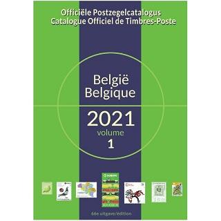 COB/OCB Catalogue Officiel de Timbres-Poste de Belgique 2021