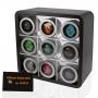 18 verschiedene farbige Silikon-Style Uhren in Geschenkverpackun