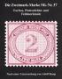 Knop Die Zweimark-Marke Mi.-Nr. 37 Farben, Plattenfehler und Fel