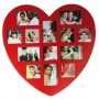 Bilderrahmen in Herzform für 13 Fotos Nr. 73503