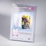 Kunststoff-Aufsteller PLEXIA3VE für Format DIN A3 Prospekte
