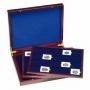 Leuchtturm Holz-Münzkassette für 60x Münzenrähmchen 50x50mm 3047