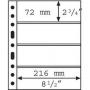 Leuchtturm Hüllen 312682/GRANDE4S per 5 Stück