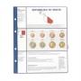 Lindner Vordruckblatt €-Collection 3 KMS Malta Nr. 8450-17