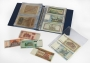 Kobra Banknotenalbum G173 Farbe rot mit 20 glasklaren Folienhüll