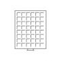 Leuchtturm Münzbox MBG48 grau für 5 DM oder den US Half $ Kenned