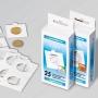Leuchtturm Münzrähmchen zum Heften für Münzen bis 39,5mm ø 30483