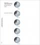 Lindner Vordruckblatt karat für 10€-Sammlermünzen mit Polymerrin
