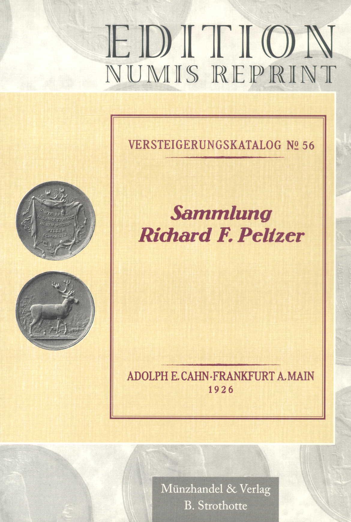 Peltzer, Richard F. (Sammlung): I. Freimaurermedaillen / Freimau