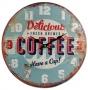 Wand Metall Coffee Ø 40cm Nr. 73989