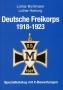 Bichlmaier/Hartung Katalog deutsche Freikorps 1918-1923