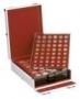 Lindner Boxen-Koffer Aluminium + 4 Boxen nach Wahl Nr. 2354B
