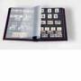 Leuchtturm Einsteckbuch LSP4/15 schwarze A4-Seiten, Farbe braun