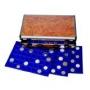 Safe Münzen-Koffer Wurzelholz leer für bis zu 420 Münzen Nr. 188