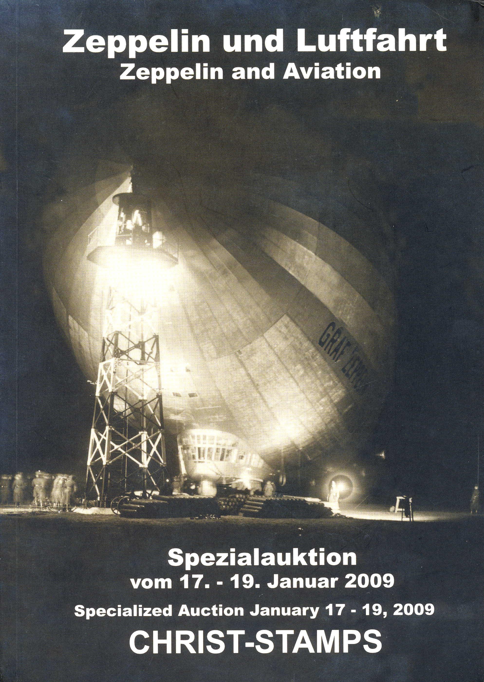 Christ Zeppelin- und Luftpost-Spezialkatalog Deutschland