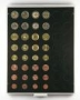 Lindner Münzenbox CARBO 2506C für 6 €-Kursmünzensätze