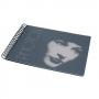 "Design-Album ""Feelings"" 20x25cm mit 40 S. Fotokarton schwarz"