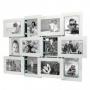 12er 3D-Bilderrahmen shiny für 12 Fotos