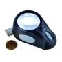Leuchtturm LED-Standlupe Bullauge mit 5-facher Vergrößerung Nr.