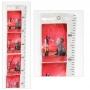 Fotovorhang mit Maßband für Bilder oder Fotos im Format 10x15cm