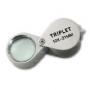 Safe Metall-Präzisionslupe 10x Nr. 9548