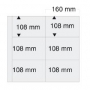 Safe großformatiges Blatt transparent Nr. 6041 per 5 Stück