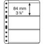 Leuchtturm Kunststoffhüllen VARIO Plus schwarz 311136/VARPLUS3S