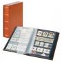 Lindner Einsteckbuch Elegant mit 60 schwarzen Seiten und passend