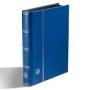 Leuchtturm BASIC Einsteckbuch 32 schwarze A5 Seiten blau Nr. 339