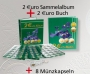 2 €uro-Sammelalbum + 2€-Buch Nr. 700201