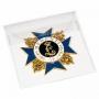 Leuchtturm Schutztasche für Orden, Medaillen und Ehrenzeichen bi