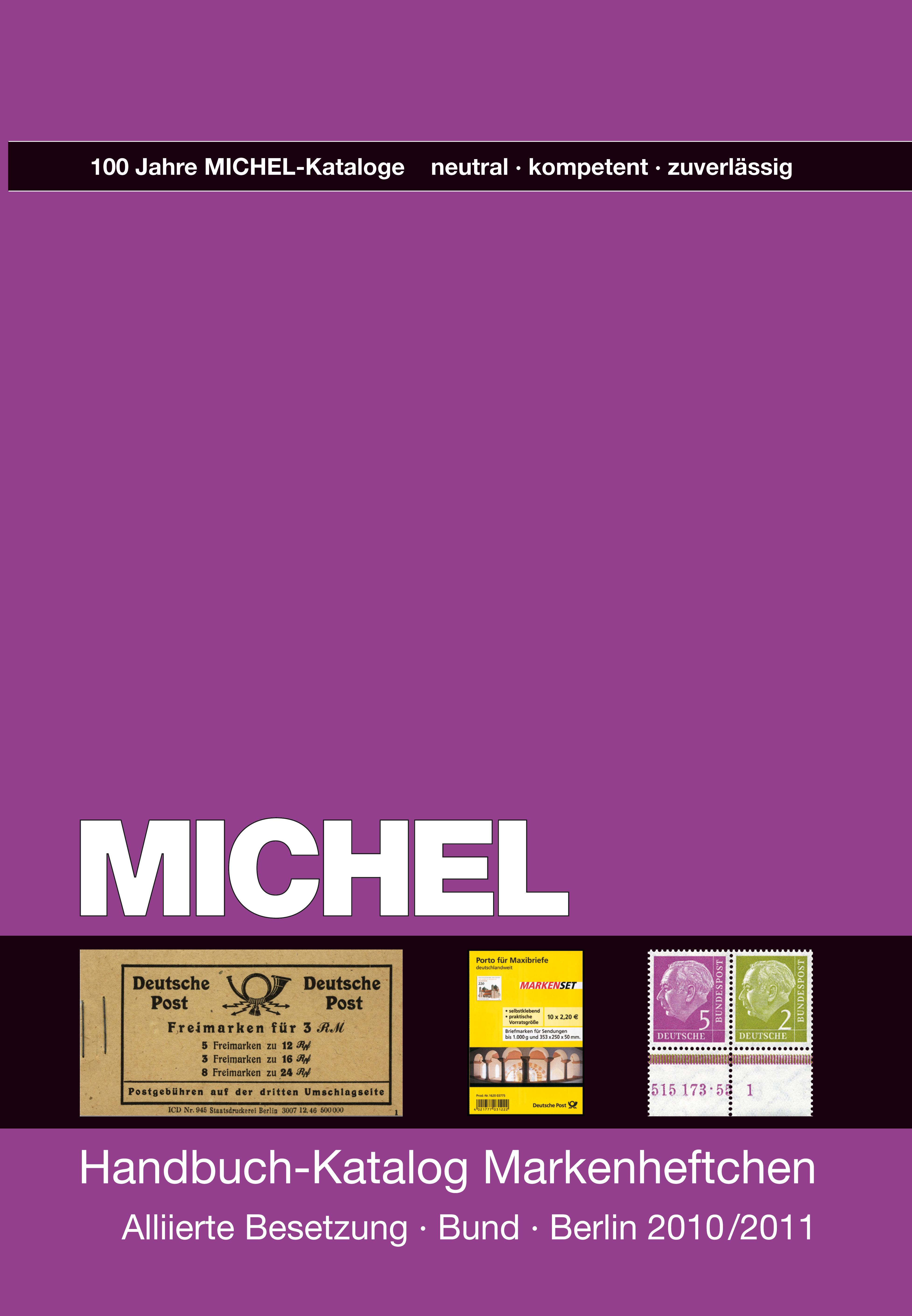 MICHEL Handbuch-Katalog Markenheftchen Katalog Alliierte Besetzu