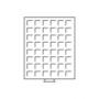 Leuchtturm Münzbox MB48/28 rauchfarben für 2€, 2 DM, 20 OES, 2 M