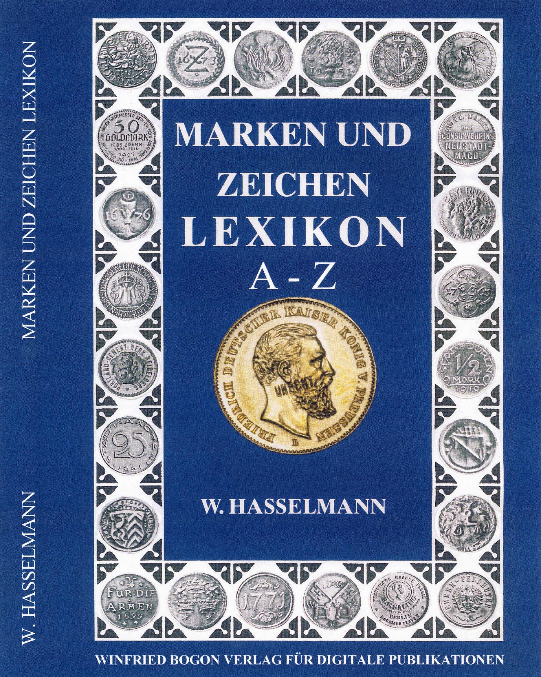Hasselmann Marken und Zeichen Lexikon A-Z CD-ROM